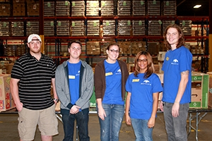 MultiView Volunteers at the North Texas Food Bank