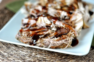 Balsamic Glazed Pork Tenderloin